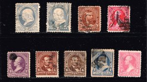 US STAMP 19TH OLD USE used stamps lot