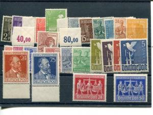 Germany Allied Occupation complete sets VF NH