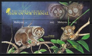 MALAYSIA SGMS1478 2008 NOCTURNAL ANIMALS MNH