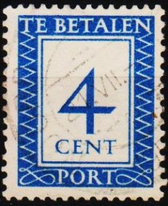 Netherlands. 1947 4c S.G.D658 Fine Used
