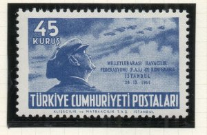 Turkey 1954 Early Issue Fine Mint Hinged 45k. NW-18202