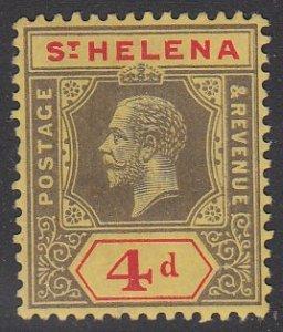 St. Helena 71 MH CV $15.00