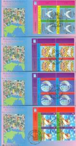 UNITED NATIONS 2006 MY DREAM FOR PEACE  LOT OF  16  FIRST DAY COVERS