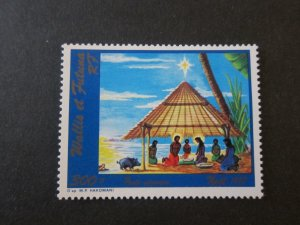 French Wallis and Futuna Islands 1987 Sc C156 Christmas Religion set MNH