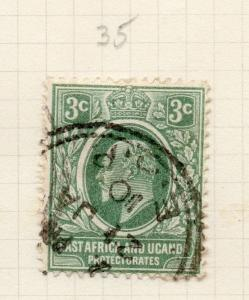 British KUT 1907 Early Issue Fine Used 3c. 277596