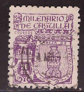 SPAIN Scott 733 Used coat of arms