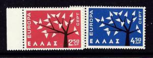 Greece 739-40 NH 1962 Europa