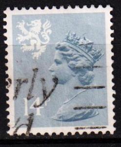 Scotland - #SMH24 Machin Queen Elizabeth II - Used