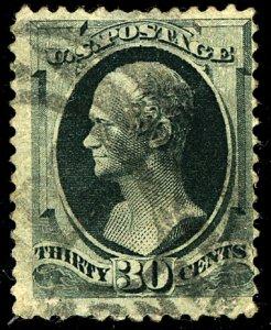 U.S. #190 USED THINS CREAES