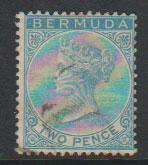 Bermuda SG 25  used  see description details