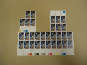 USPS Scott 2211 22c Duke Ellington Stamps Lot of 3 Plate ...
