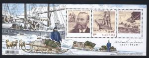 CANADA 2004 = OTTO SVERDRUP = Souvenir Sheet JOINT ISSUE with Norway & Greenland