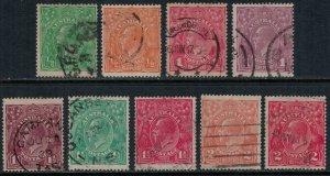 Australia 19-22,4-8  CV $21.85