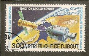 Djibouti   Scott C136  Apollo-Soyuz   CTO