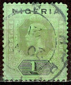 Nigeria; 1931: Sc. # 29: O/Used Single Stamp