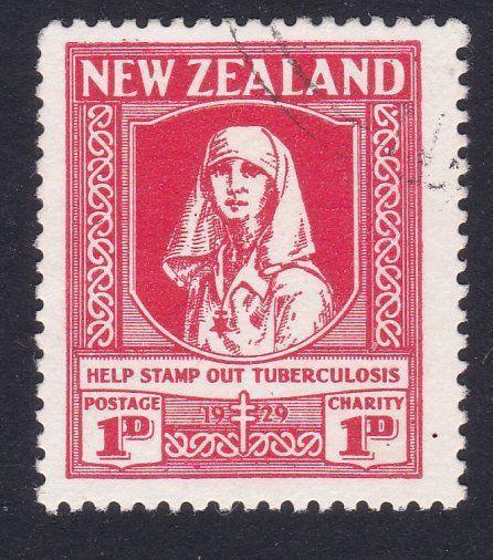 NEW ZEALAND 1929 Health Nurse fine used....................................87538