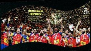 HERRICKSTAMP NEW ISSUES SPAIN Sc.# 4266 Handball Championship 2018 S/S