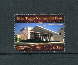 Peru 1773, MNH, New National Grand Theater 2011. x29622