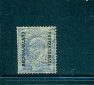 Br. Bechuanaland - Sc# 78. 1904 2 1/2p . Edward VII Used. $11.00