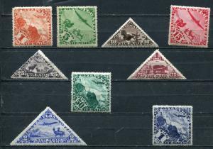 Tannu-Tuva 1934 Sc C1-C9 MH CV $42  4929