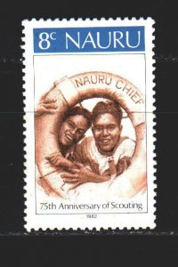 Nauru. 1982. 242 from the series. Scouts. MNH.