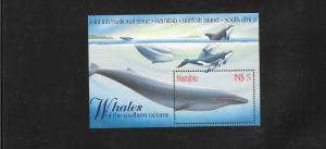 WHALES - NAMIBIA #919 MNH