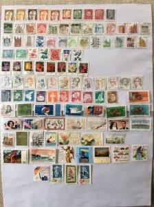 German 100+ stamps - Lot 3