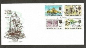 1971 Tristan da Cunha Scout Shackleton-Rowett Expedition Antarctic FDC