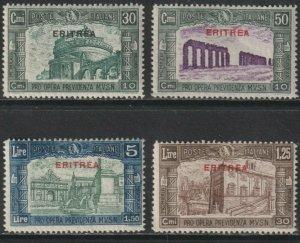 Sc# B29 / B32 1930 Eritrea overprint semi-postal MNH complete set CV $560.00