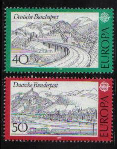 Germany 1977  MNH  Europa complete