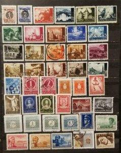 CROATIA Stamp Lot MH MNH Used T2527