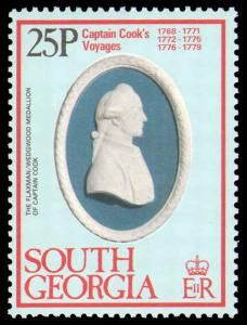 SOUTH GEORGIA #52-55 COMPLETE SET MINT NEVER HINGED