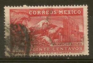 MEXICO STAMP VFU SERVICIO AEREO 20 CENTAVOS # ME-18