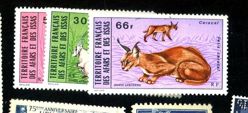 AFARS & ISSAS #C75-6 MINT FVF OG HR Cat $18