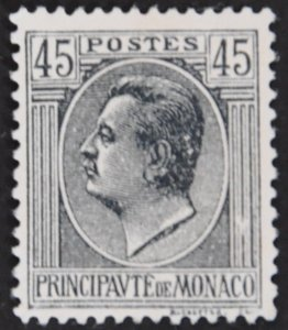 DYNAMITE Stamps: Monaco Scott #74 – UNUSED