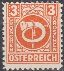 Austria #4N2  MNH