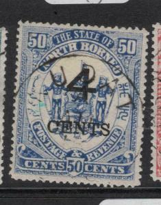 North Borneo SG 119a VFU (1dvp)
