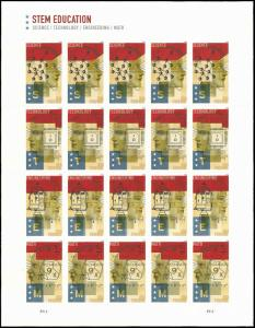 PCBstamps   US #5276/5279 Sheet $10.00(5x4x{50c})STEM Education, MNH, (PCB-4)