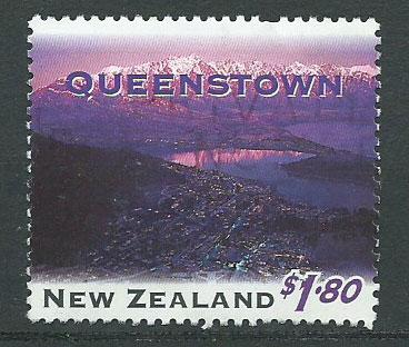 New Zealand SG 1860 pulled perf Used