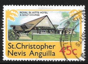 [3525] St Kitts & Nevis # 364 Used