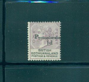 Bechuanaland - Sc# 60. 1888 1d Mint. $20.00.