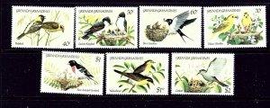 Grenada-Grenada 590-96 MNH 1984 Birds