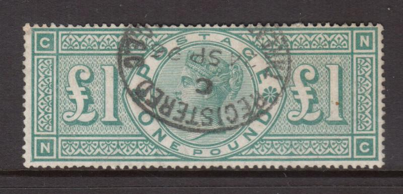 Great Britain #124 Used & Fresh