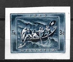 COLLECTION LOT OF # 811 SWITZERLAND  # B143 (STAMPWORLD 439) 1945 CV=$90 2 SCAN