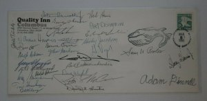 Society Polar Philatelists Quality Inn Columbus Envelope COLOPEX 1985 group sign