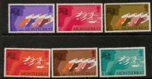 MONTSERRAT SG329/34 1974  U.P.U  MNH