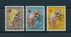 [98404] Netherlands New Guinea 1955 Birds Vögel Oiseaux Red Cross OVP MNH