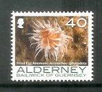 Alderney - 2007 Corals and Anemones (40p) (MNH)