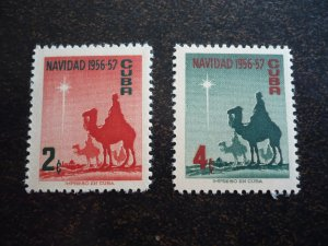 Stamps - Cuba - Scott#562-563 - MNH Set
