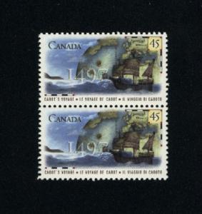 Canada #1649 Mint VF NH pair  PD 1.50